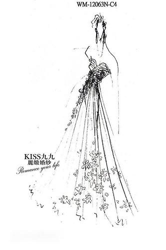 高雄KISS九九麗緻婚紗-推薦婚紗禮服-限量訂製款8