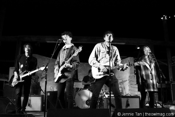 The Pains of Being Pure at Heart @ Pappy & Harriet's, Pioneertown 10/15/14