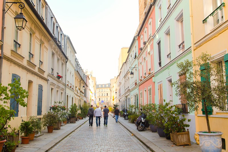 Colourful Rue Crémieux