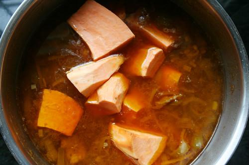 Foto de receta paleo Guiso de carne de caballo con boniato