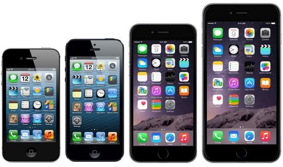 IPhone 4S Vs 5 6 Plus