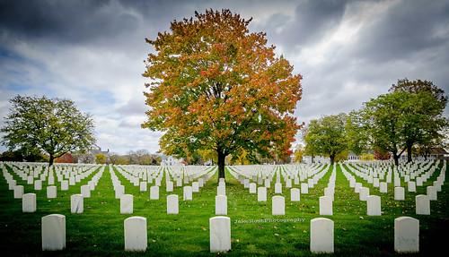 tree fall wisconsin clouds landscape nikon october memorial war milwaukee tamron burialground lightroom woodnationalcemetery dolica nikond7000 jakerost