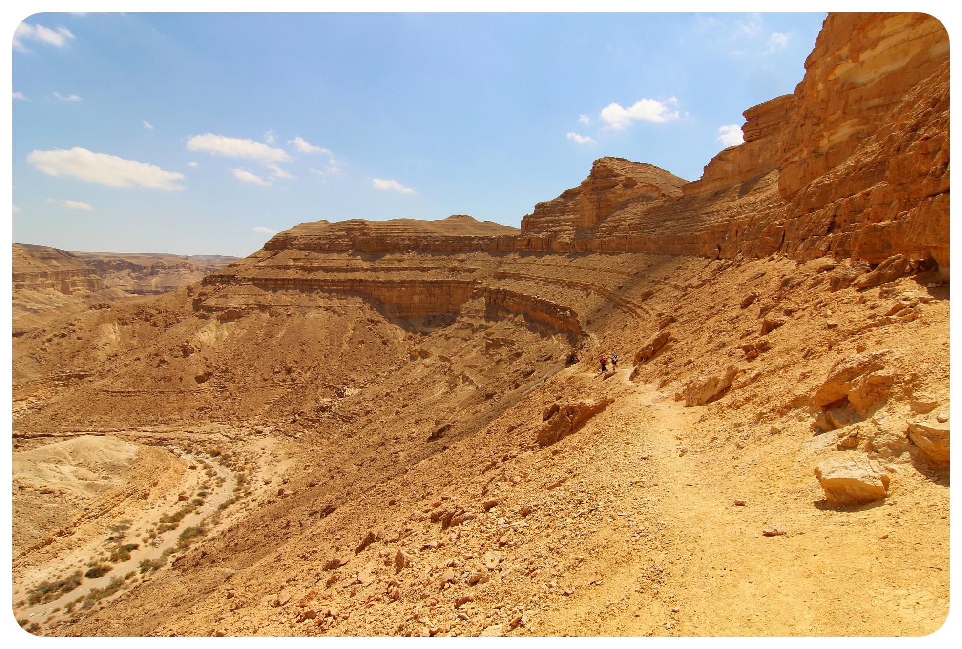 israel national trail negev desert1