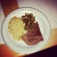 My daughter wanted steak so here it is