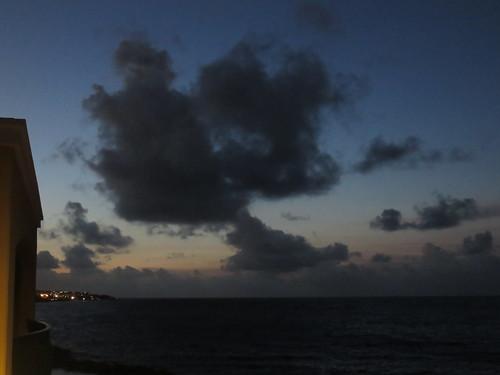 Sonnenaufgang über Jan Thiel