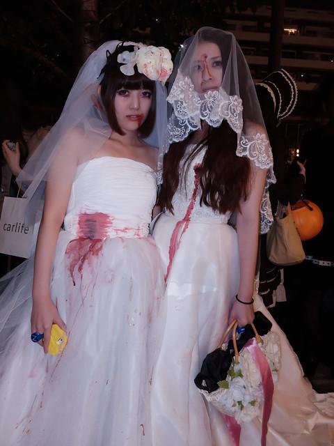 bloody bride Nakameguro Blue Halloween 40