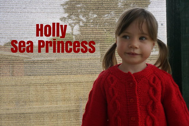 Holly Sea Princess Cardigan
