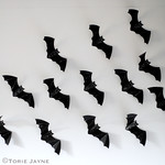 Wall of bats