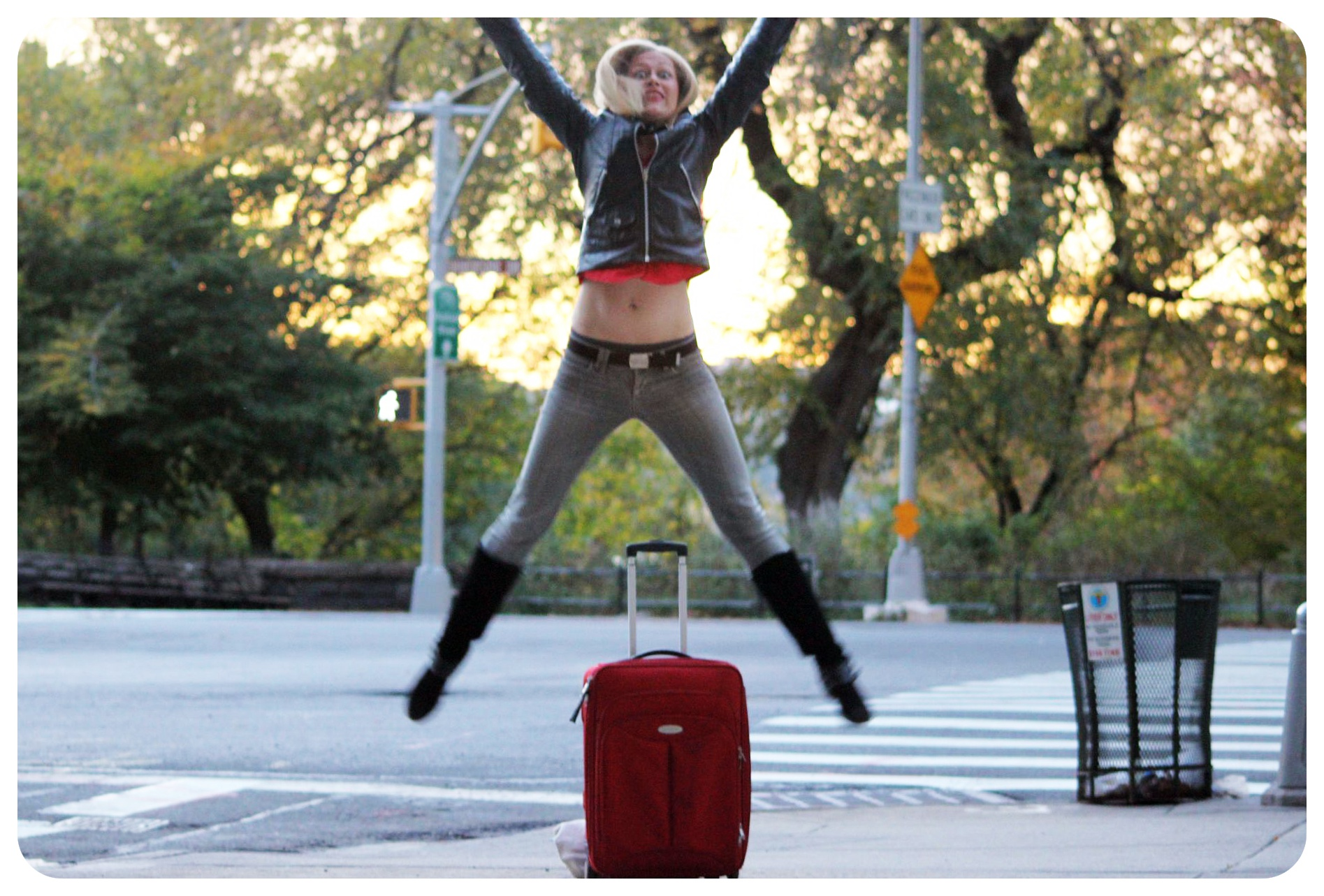 luggage jump