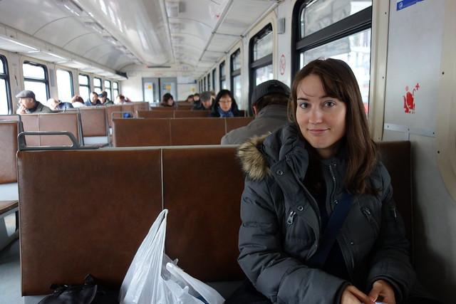 230 - En el tren a Sergiev Possad