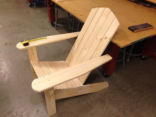 Adirondack chair class
