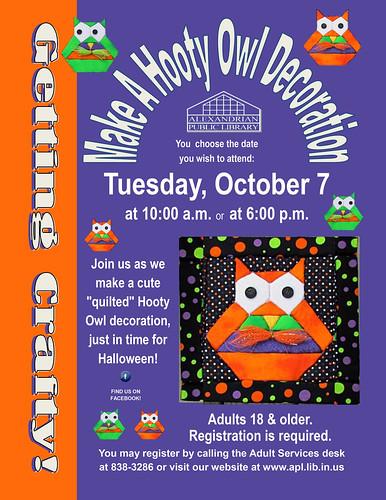 , Getting Crafty! Hoot craft October 7, 2014, My Travels Blog 2020, My Travels Blog 2020