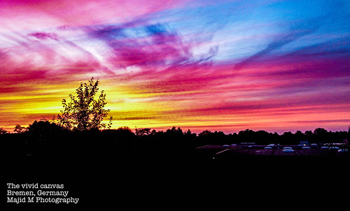 sky nature weather landscape amazing saturated colorful canvas mobilephotography