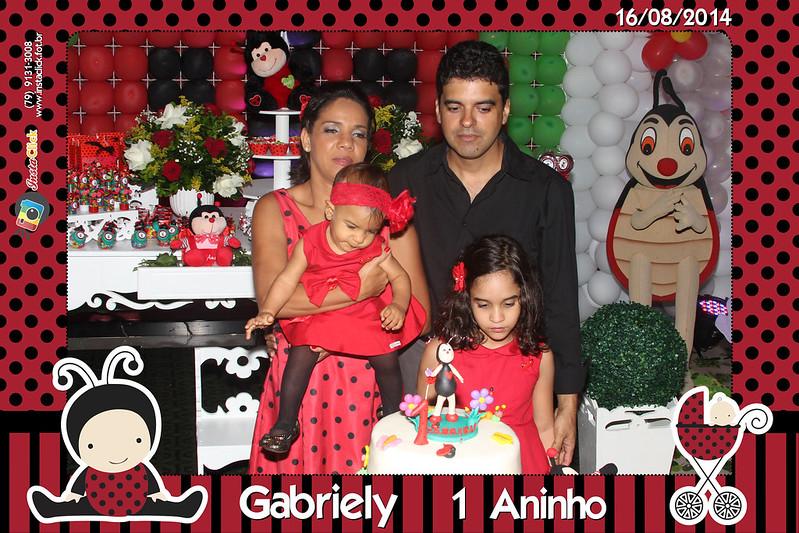 Aniversário Gabriely - 1 Ano