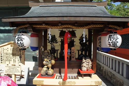 京都 地主神社 撫で大国