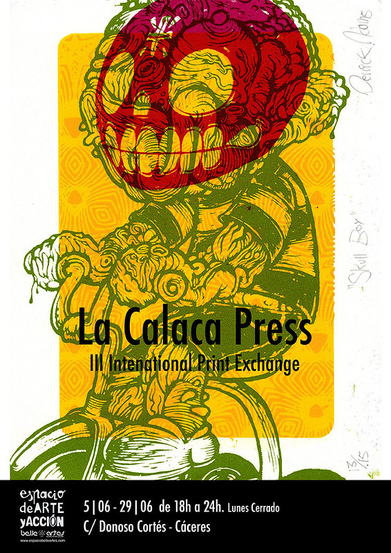 La Calaca Press in Spain