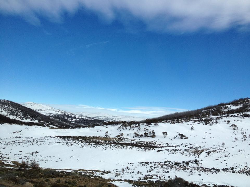 On the way to Snowy mountains...