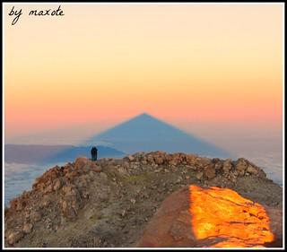 Cima de Tenerife (El Teide 3718 m.)