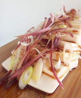 Silken Tofu met gemberbloem