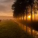 Sunrise in de Betuwe op 12 okt by betuwefotograaf