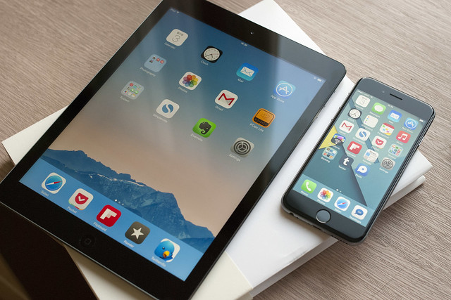 iPhone 6 & iPad Air