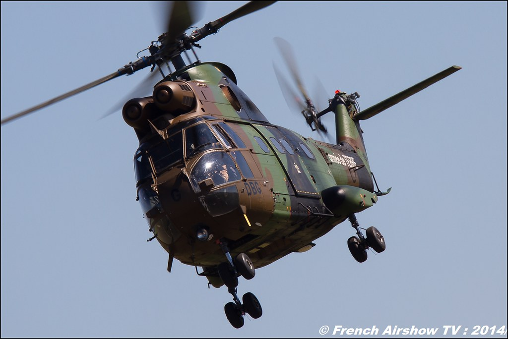Sud-Aviation, SA330 Puma, 60 ans ,ALAT,Airbus Helicopter, JPO Gamstat Valence Chabeuil 2014