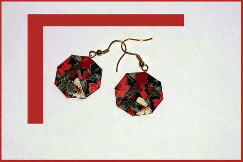 Origami Earrings (Traditional)