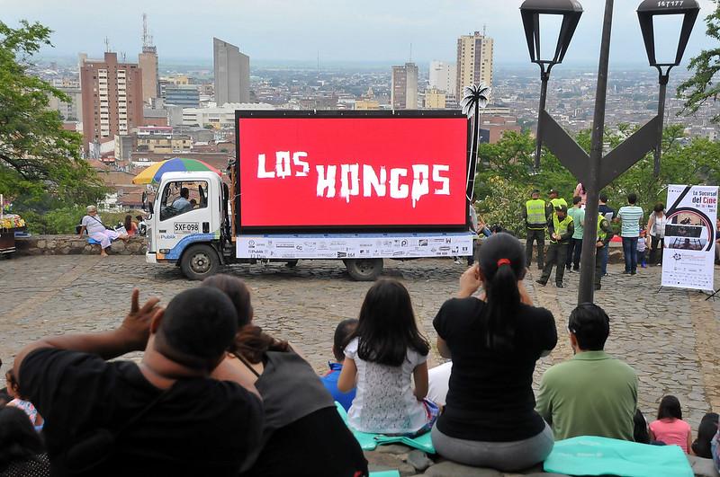 En la jornada de clausura del Festival Internacional de Cine de Cali se presentó Los Hongos