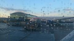 BA 787 at London Heathrow