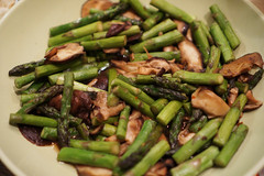 green bean(0.0), produce(0.0), vegetable(1.0), asparagus(1.0), food(1.0), dish(1.0), asparagus(1.0),