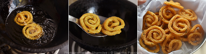 How to make rava murukku - Step4