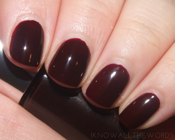 Clinique Black Honey Beauty- A Different Nail Enamel in Black Honey