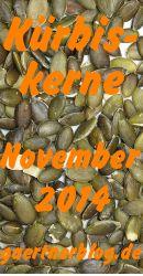 Garten-Koch-Event November: Kürbiskerne [30.09.2014]