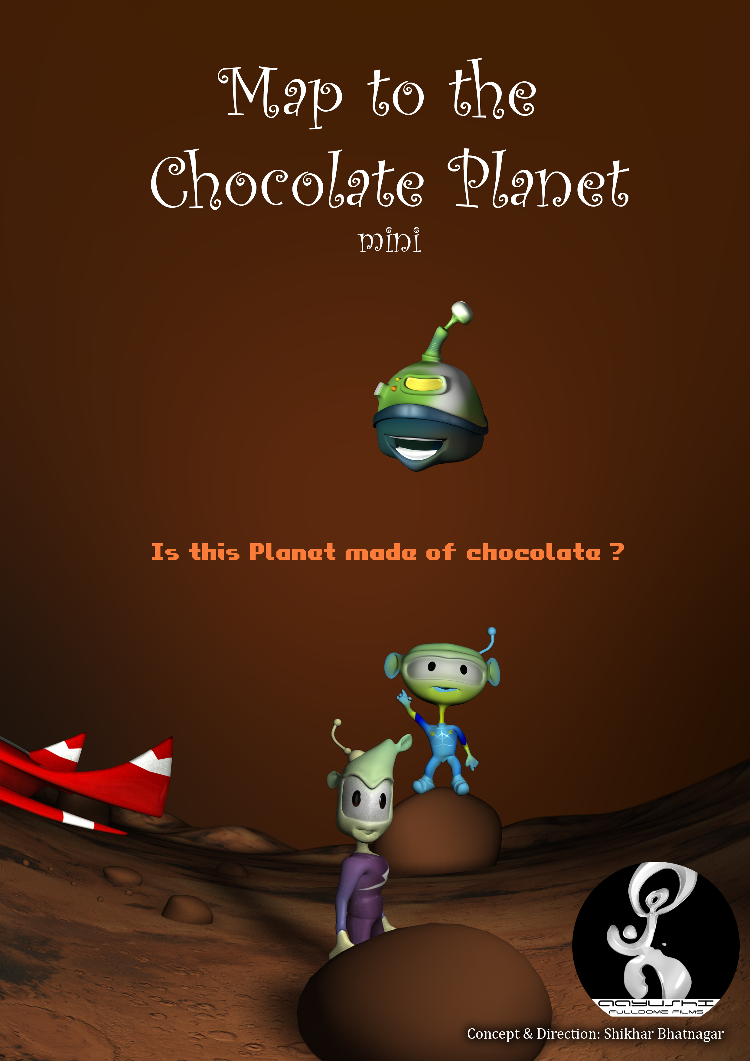 Map to the Chocolate Planet - mini | Fulldome Database - FDDB.org