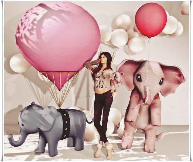 Pink Elephants 1
