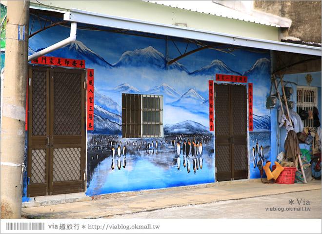 【關廟彩繪村】新光里彩繪村~在北寮老街裡散步‧遇見全台最藝術風味的彩繪村64