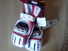 Leki WC Racing Titanium S mitten - titulní fotka
