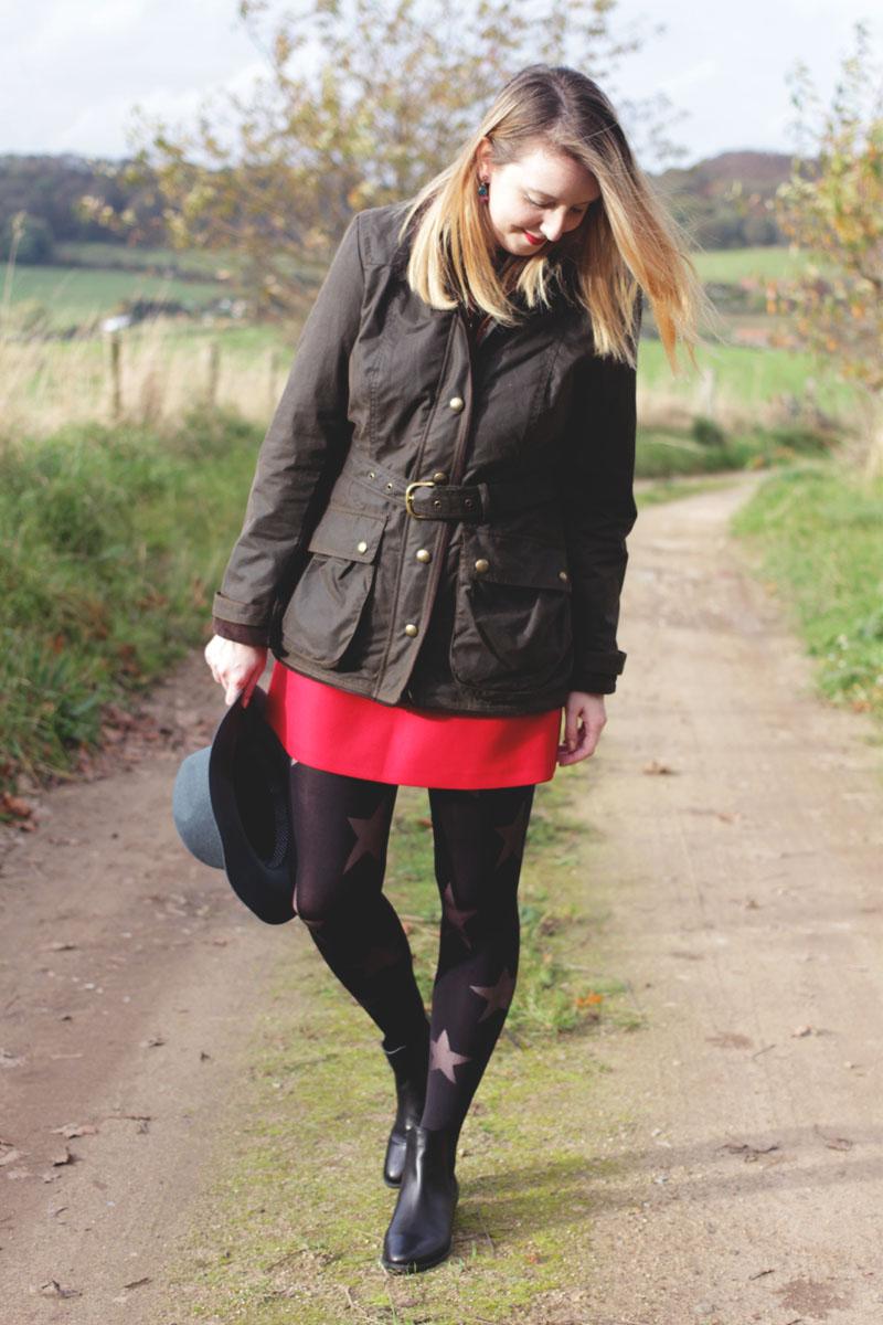 Joules Jacket, Zara Skirt, Bumpkin Betty