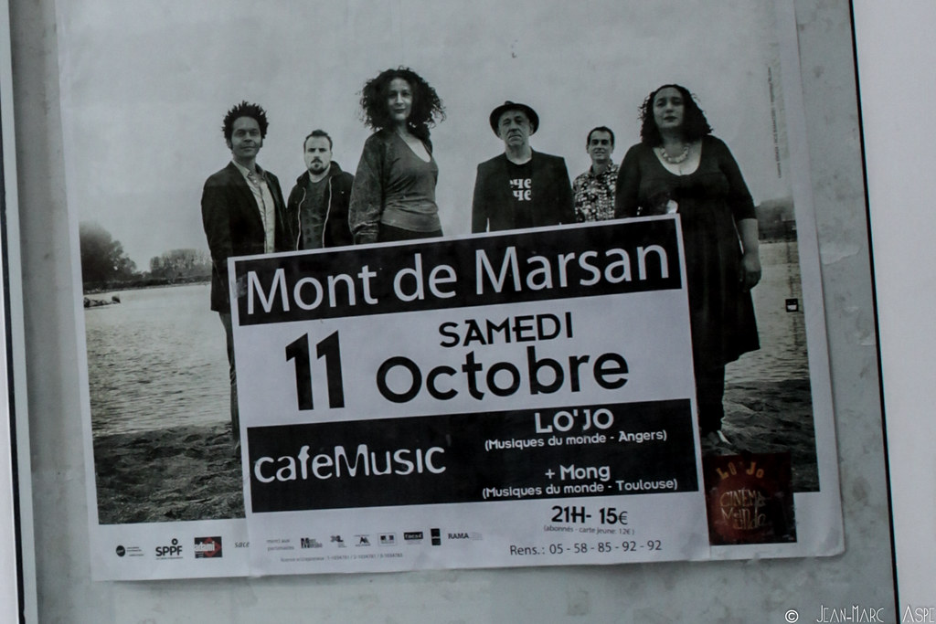 M\xd6NG + LO'JO - Caf\xe9 Music Mont 2 Marsan