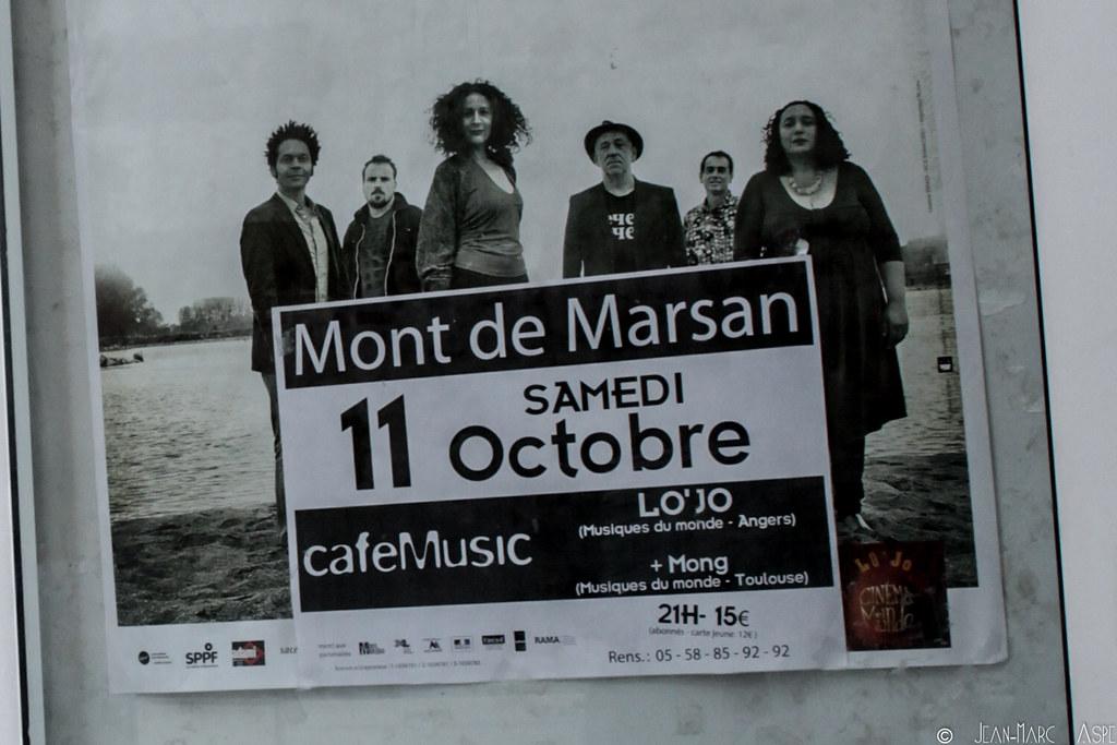 M\xd6NG + LO'JO - Caf\xe9 Music Mont 2 Marsan