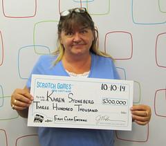 Karen Stoneberg - $300,000 First Class Fortune