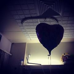 Dark Side of the (Princess) Balloon. #balloon #princess #heart #eliza14 #hospital #shadow #cerebralpalsy
