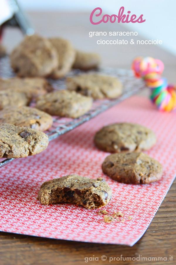 Cookies grano saraceno