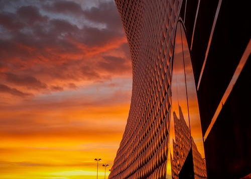 morning autumn urban reflection beautiful sunrise 35mm landscape dawn birmingham cityscape fuji dramatic selfridges fujifilm epic bullring brum xf35 xt1 brumrise