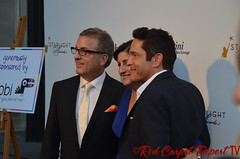 Music producer Jeff Koz, Audrey's Cookies Founder & CEO Roberta Koz Wilson, and Coalition Media Group CEO Dave Koz at the 2014 Starlight Awards #starlightonline DSC_0004