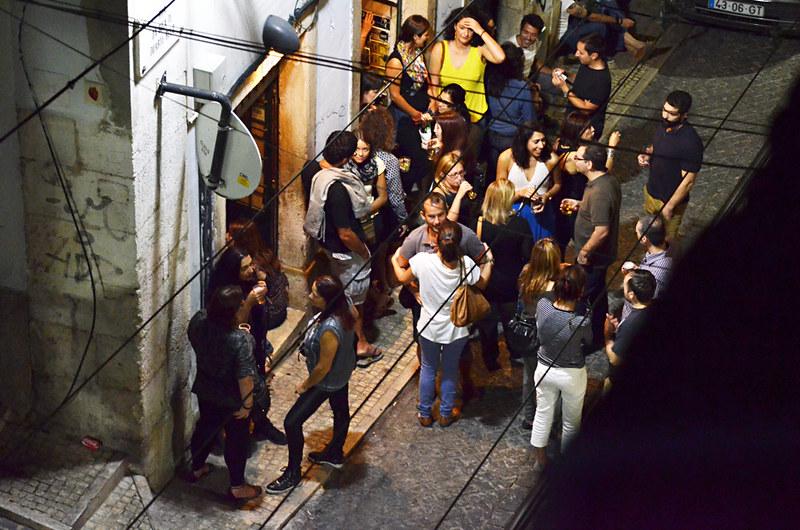 Bar Scene, Lisbon, Portugal