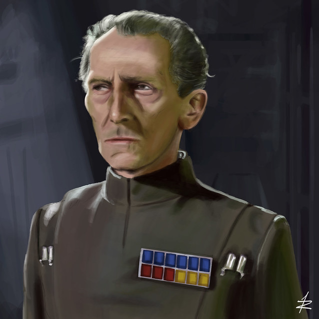 Grand Moff Tarkin by rodrigoev12