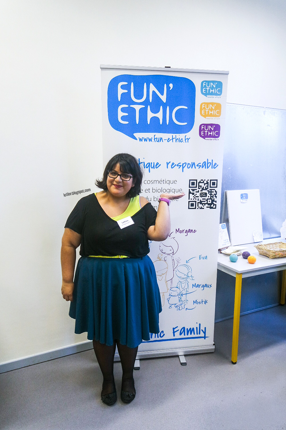 Fun'Ethic Letilor event blogueurs