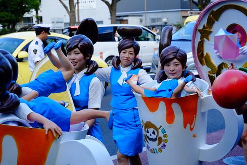 fuchicos Best character award Kawasaki Halloween parade 2014 24