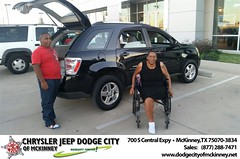 Dodge City McKinney Texas Chrysler Jeep Dodge Ram SRT Dallas Dealer Testimonials Customer Reviews -Sharlyn Brown